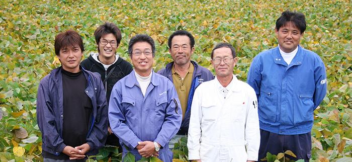 大豆の契約農家