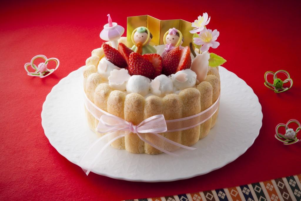 2016ひなまつりケーキ(小)